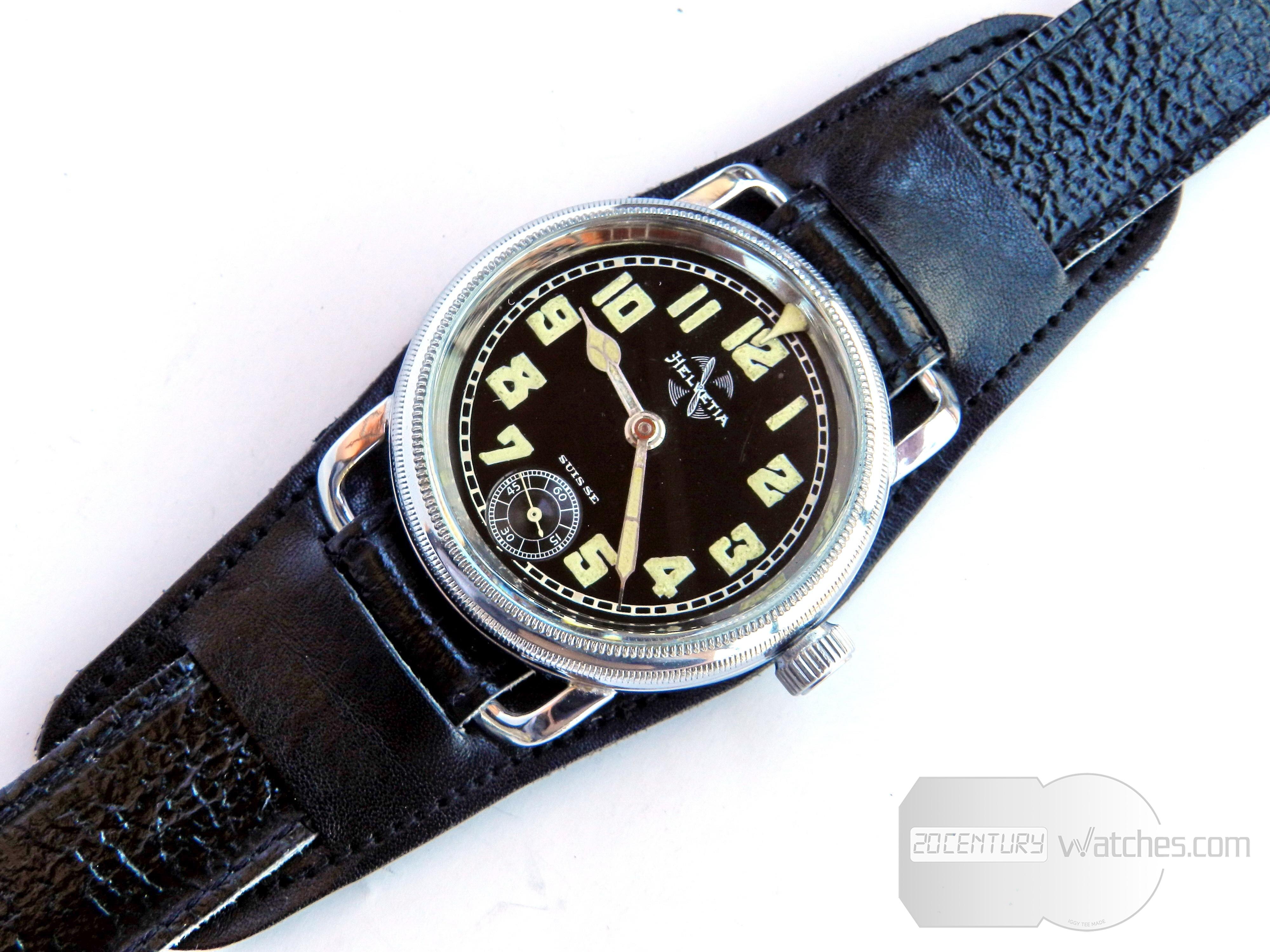 Helvetia pilot watch