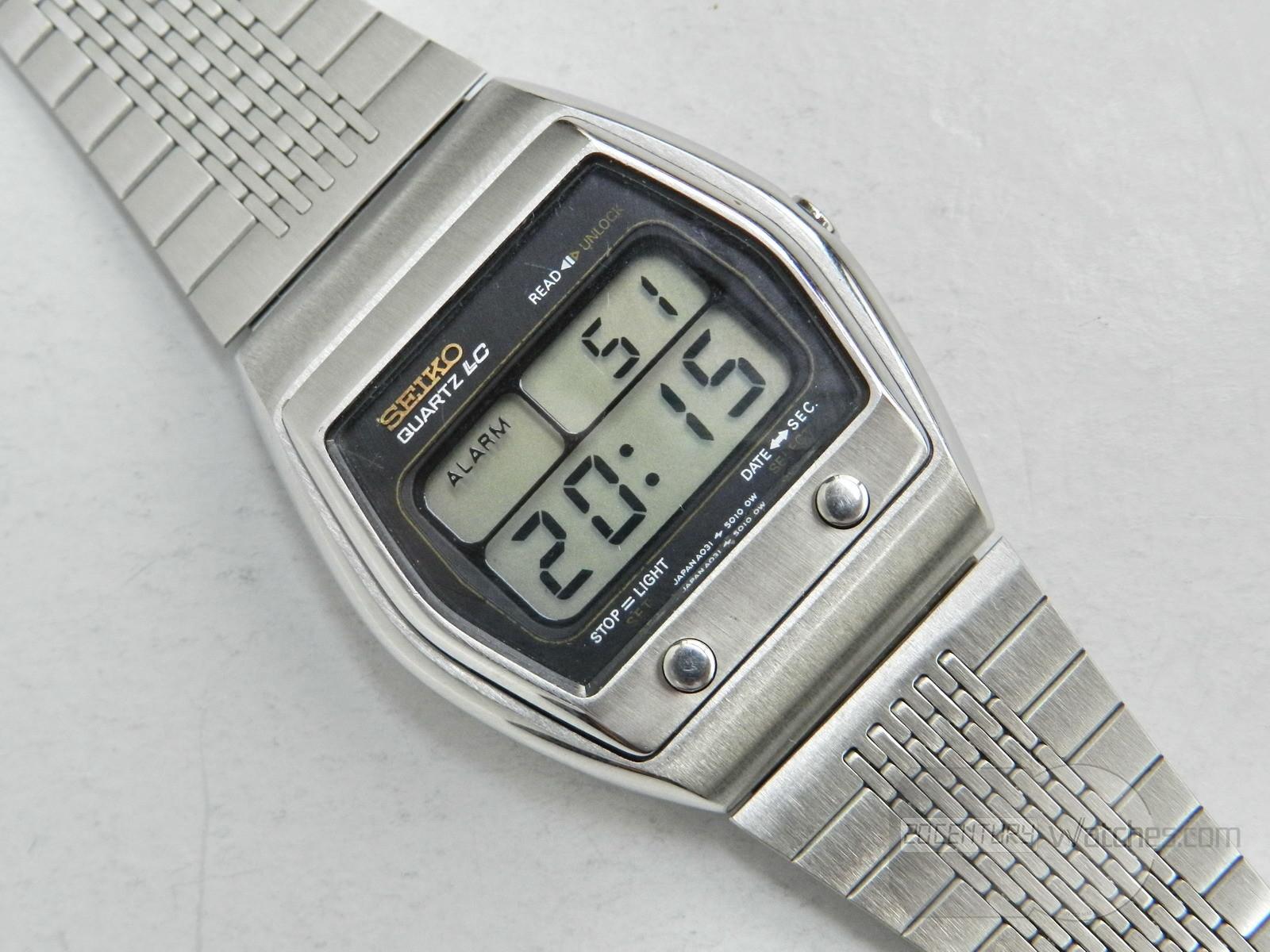 Seiko A031-5019 (first Seiko alarm watch)