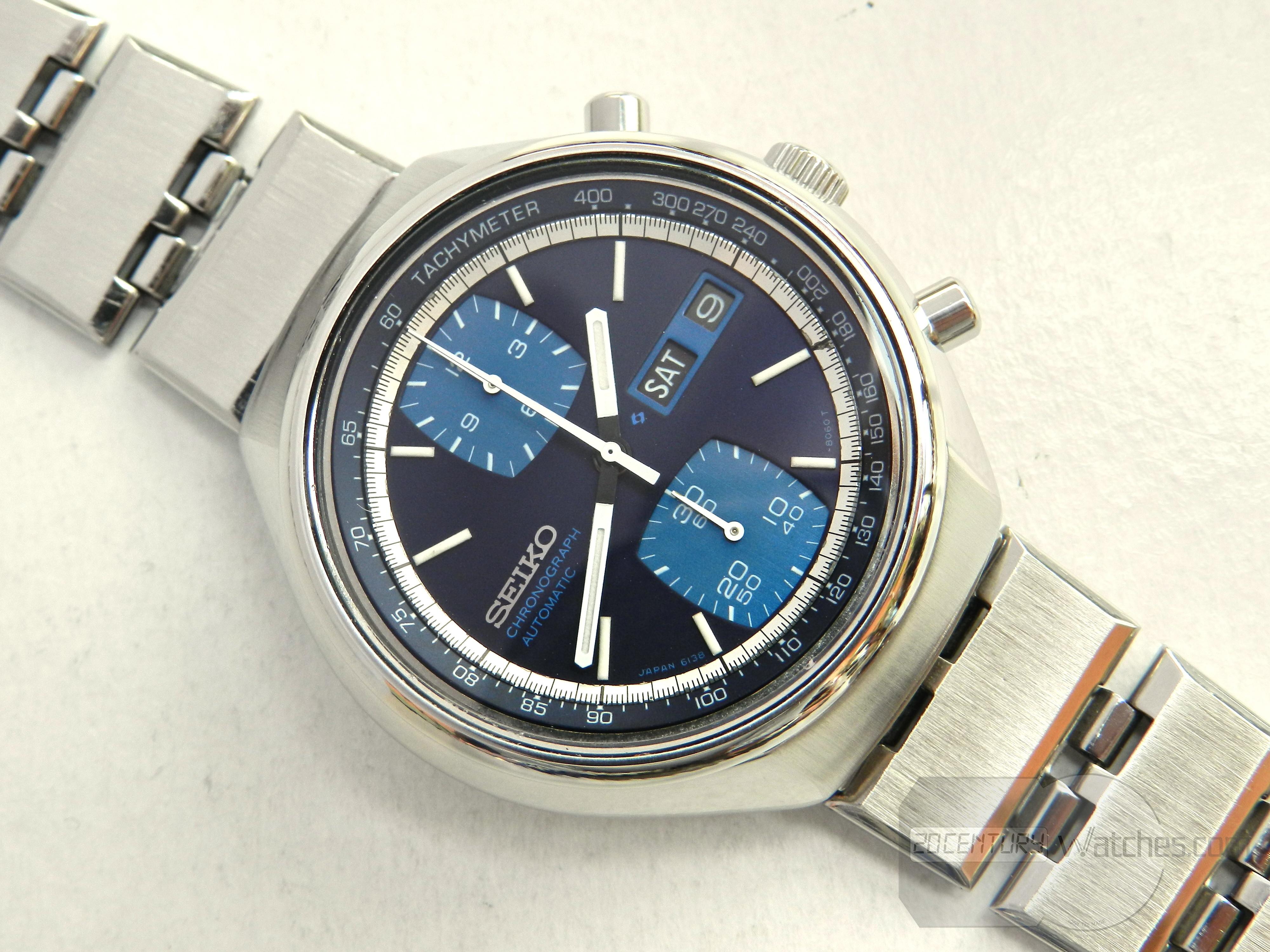 Seiko Automatic Chronograph 6138-8030
