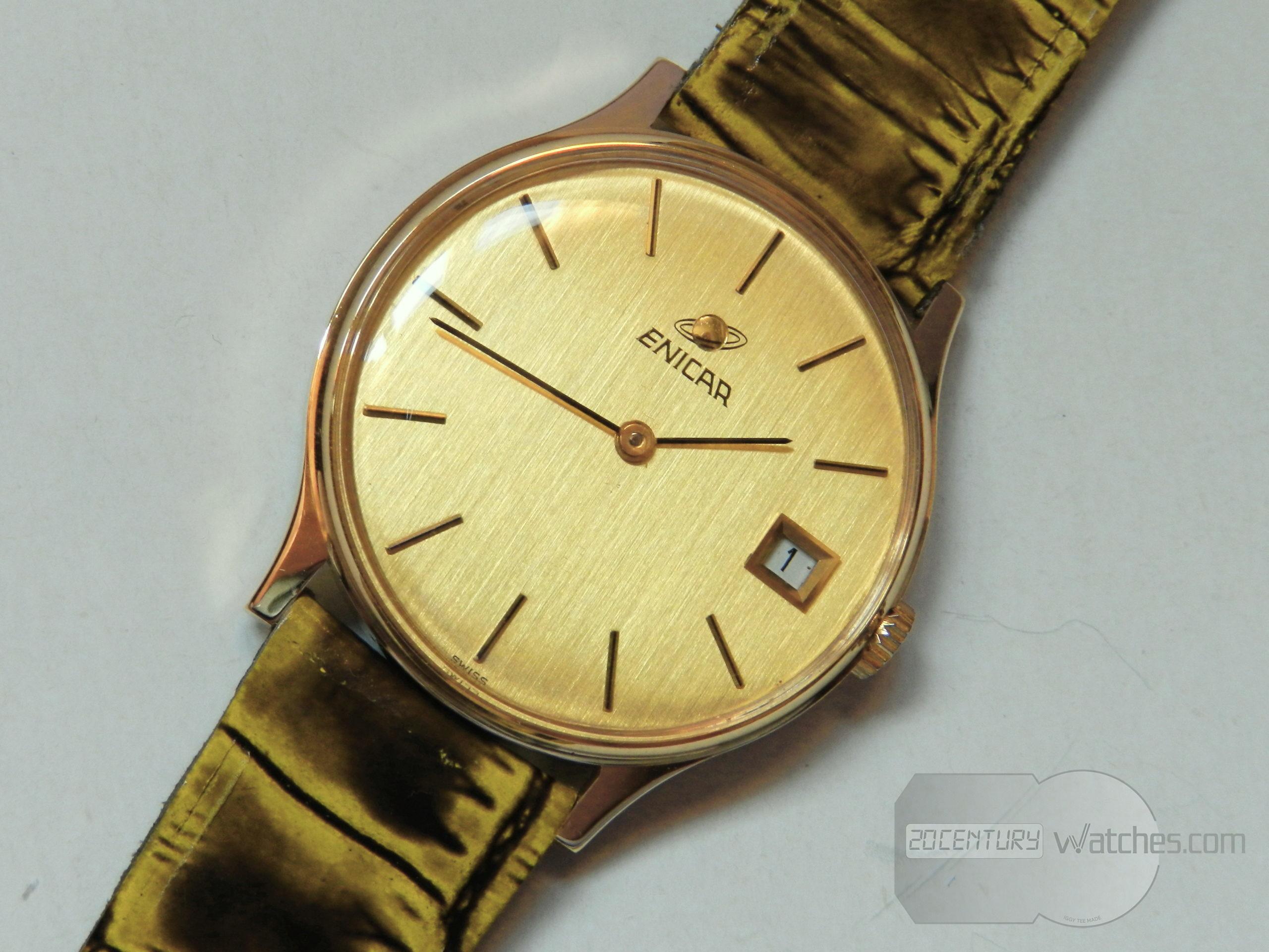 Enicar classic watch