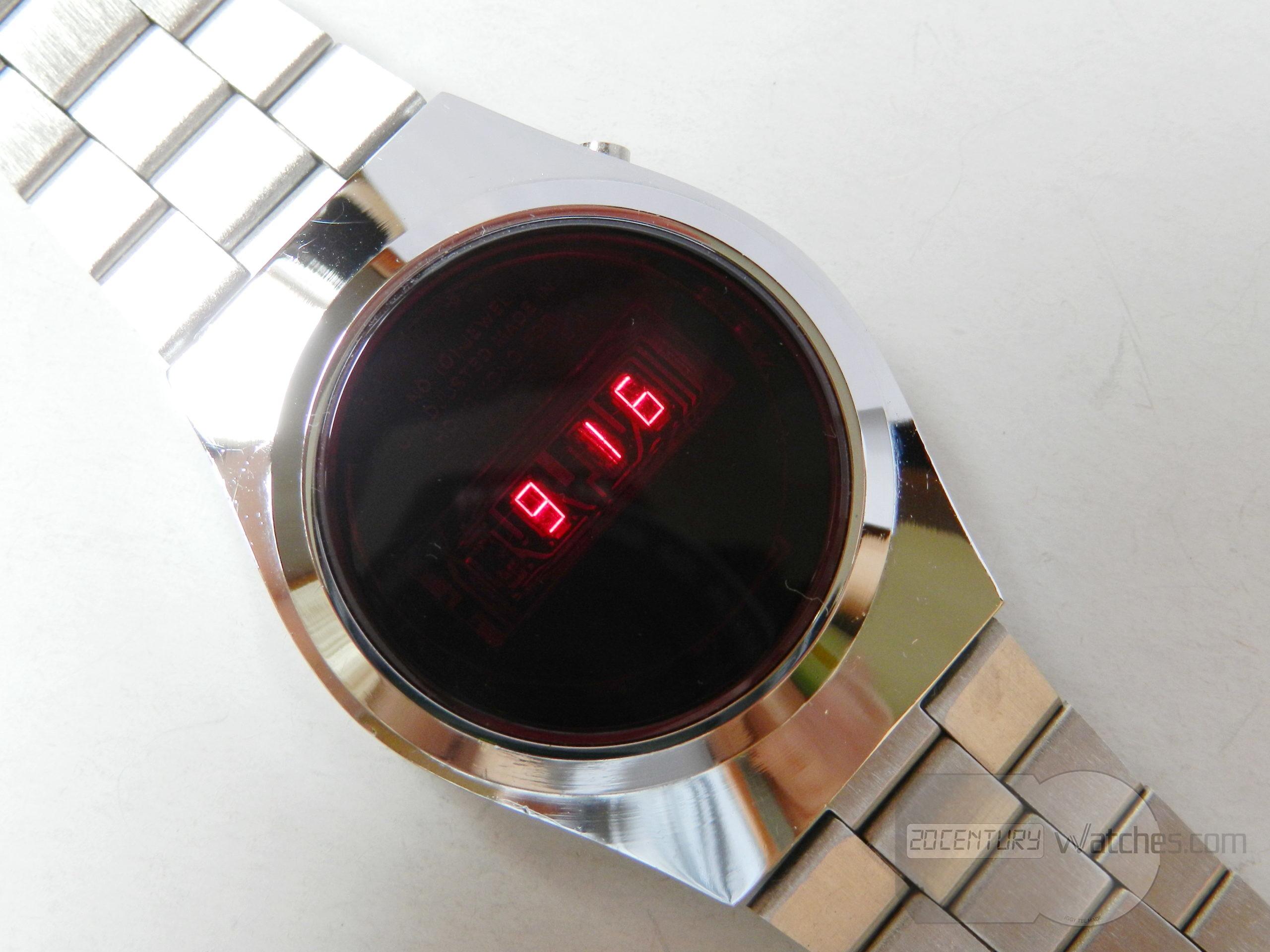 Lambda LED watch