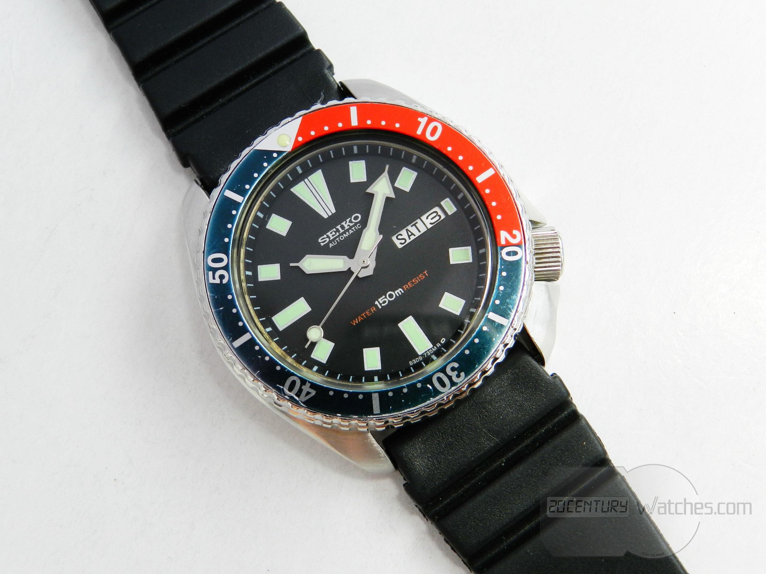 Seiko Automatic Diver 6309-7290